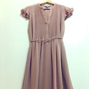 Flowy summer dress light pink